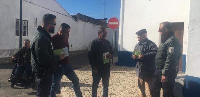 Concelho de Ferreira do Alentejo recebe ações de sensibilização no âmbito da operação Floresta Segura 2019
