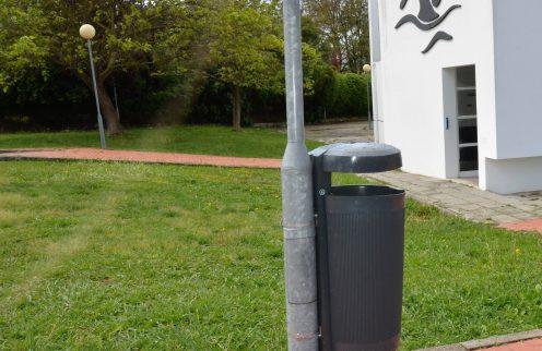 (Português) Substituição de papeleiras em Ferreira do Alentejo