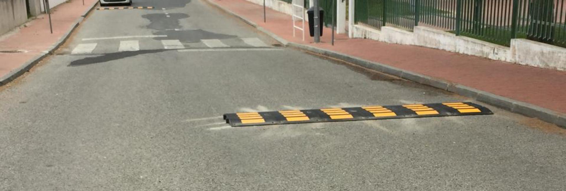 (Português) Lombas redutoras de velocidade para garantir segurança
