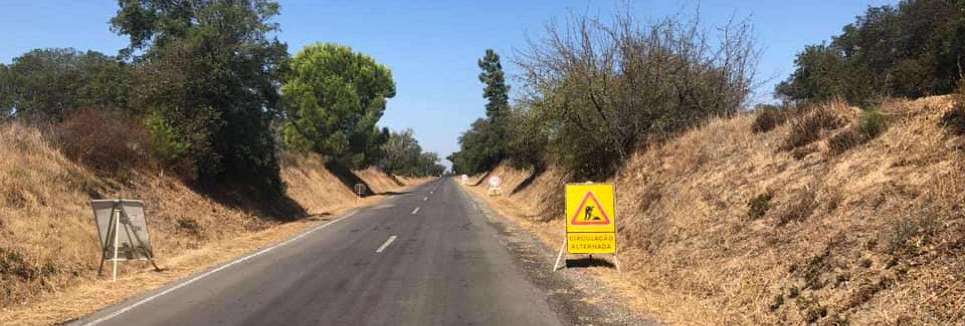 (Português) Obras na Estrada Nacional 383