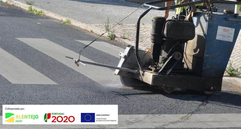 (Português) Remodelação das passadeiras para peões em Ferreira do Alentejo 1