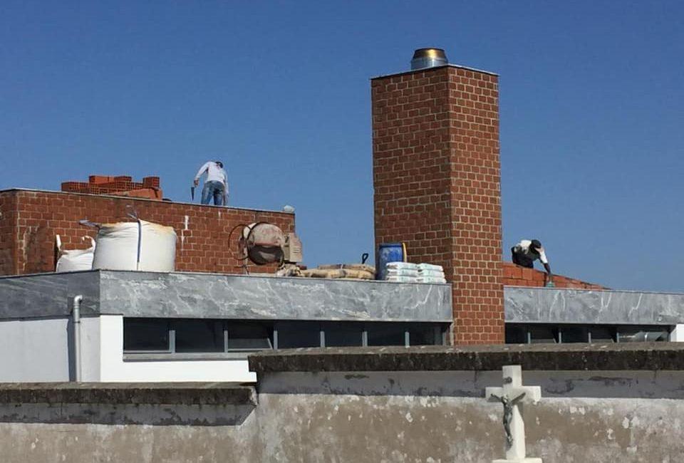 (Português) Obras de manutenção no crematório de Ferreira do Alentejo