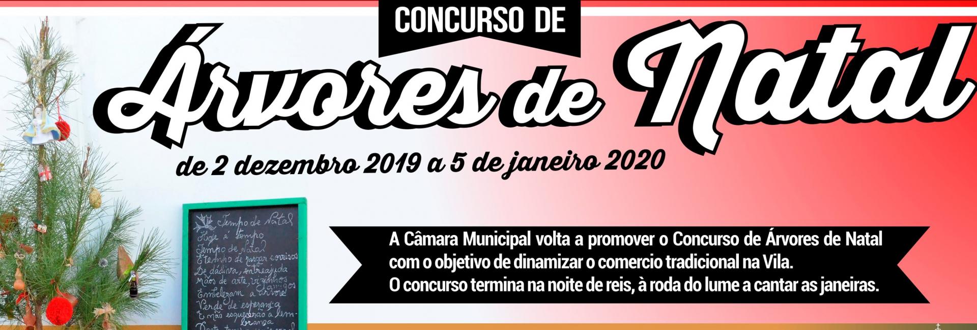 (Português) Câmara Municipal promove concurso de árvores de Natal
