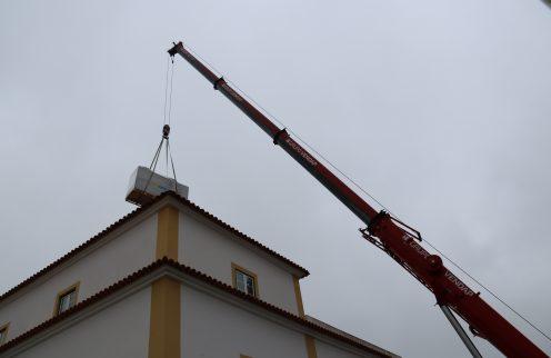 (Português) Biblioteca Municipal com novo sistema de climatização