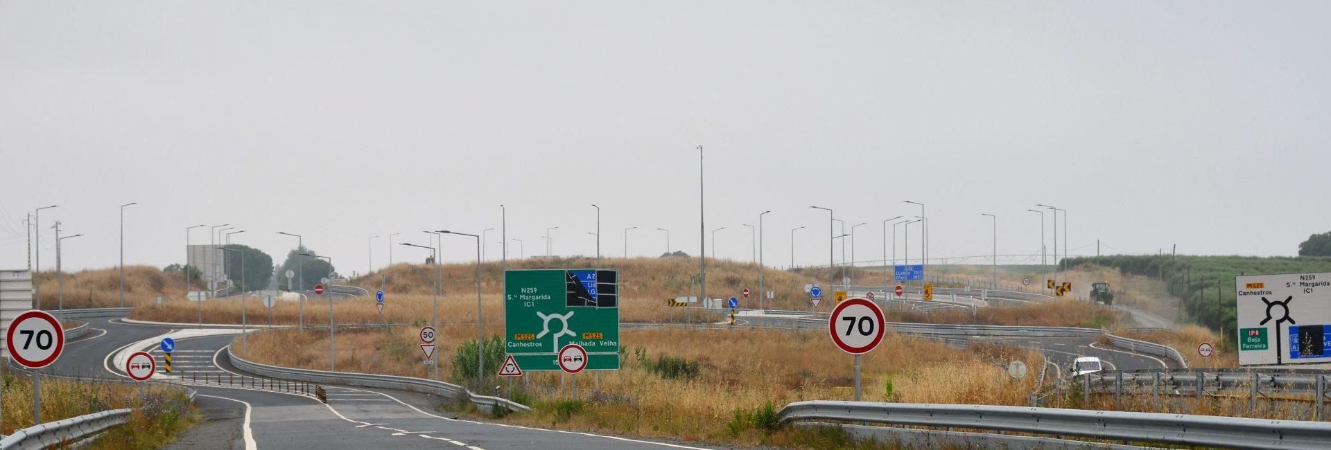 (Português) O troço da A26, no concelho de Ferreira do Alentejo abre em março e será isento de portagens