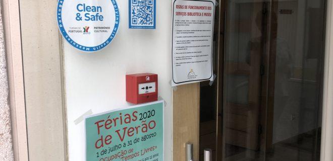 (Português) Museu com selo CLEAN & SAFE