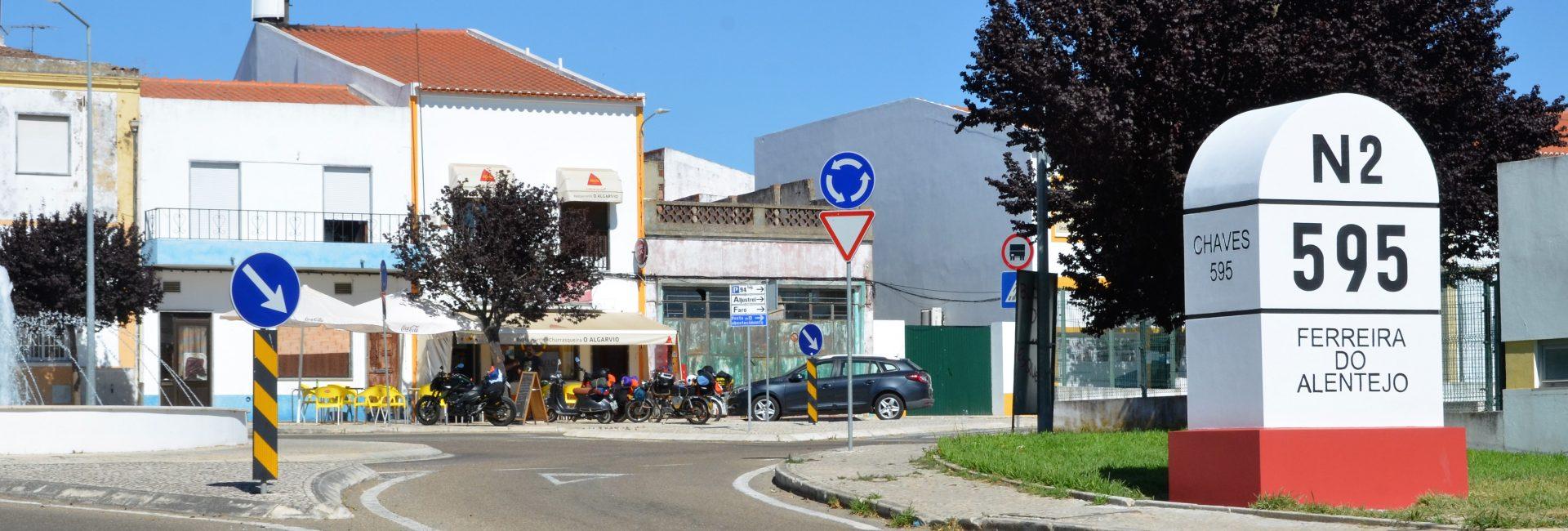 (Português) Estrada Nacional 2 | Quilómetro 595