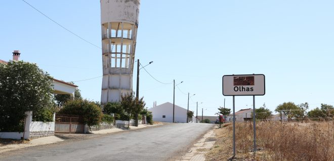 (Português) Obras de Beneficiação do depósito de água de Olhas