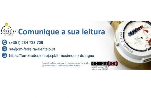 (Português) Comunicação da leitura de água