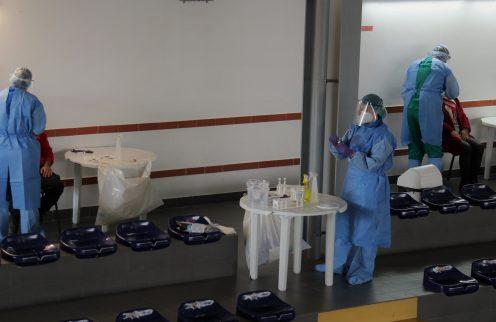 (Português) Câmara Municipal promove testes Covid-19 a trabalhadores da autarquia e bombeiros voluntários