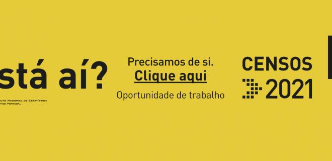 (Português) CENSOS 2021 | Recrutamento de Recenseadores