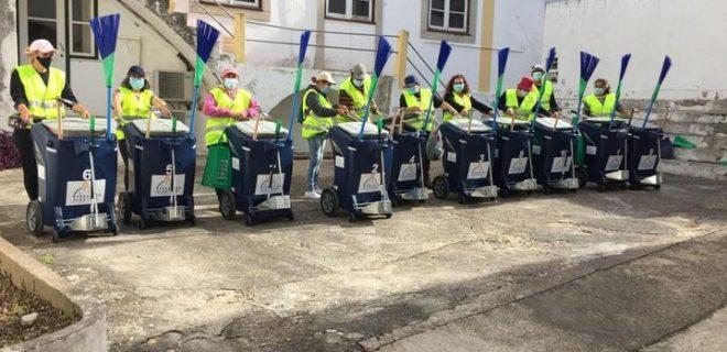 (Português) Limpeza Urbana com nova equipa