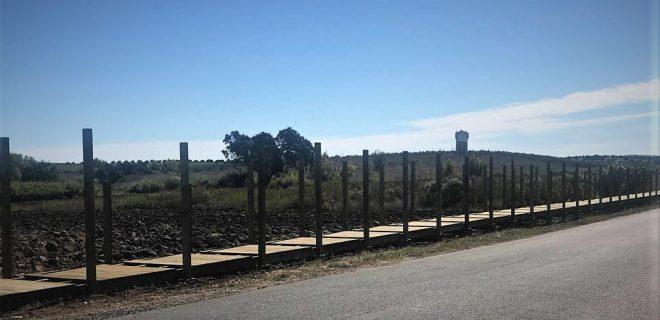 (Português) Via Pedonal entre Alfundão e Peroguarda